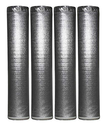 800sqft Amerique Flooring Silver Underlayment Padding With